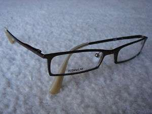 AUTHENTIC JF REY EYEGLASSES . JF2005 . COL. BROWN