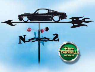 Hand Made FORD MUSTANG AUTO CAR Weathervane ~NEW~