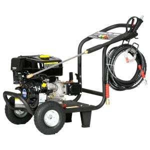 LIFAN 3500 psi 4.0 GPM AR Triplex Pump Professional Pressure Washer