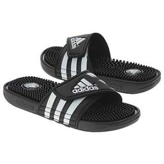 Athletics adidas Kids Adissage Pre/Grd Black/White Shoes