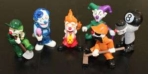 72 Homie Clown figures 6 different styles   12 cards