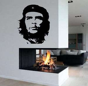 Big Che Guevara Portrait Face Wall Vinyl Decal Sticker