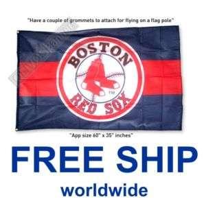 New BASEBALL BOSTON RED SOX MLB FLAG BANNER 3x5ft