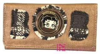 Licensed BETTY BOOP Fabric Oversized Hobo Bag Purse Handbag Wallet SET