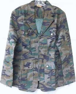 UNDERGEAR Men America Army Green Camo Blazer LARGE NWT #386C IA85