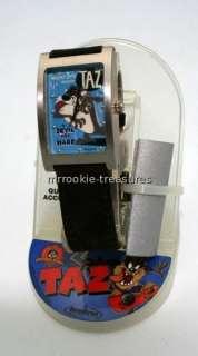 Jaz Warner Bros Taz Tasmanian Devil Watch NEW