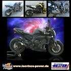 Auspuff LeoVince GP Style SCHWARZ Yamaha FZ1 Fazer RN16