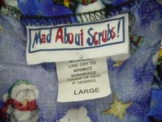 Medical Dental Scrubs Lot of 9 Outfits Sets Size L Large Lrg