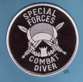 ARMY SPECIAL FORCES COMBAT SCUBA DIVE DIVER PATCH
