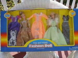 LISA AND FRIEND Fashion Doll dolls EXCITE Barbie size