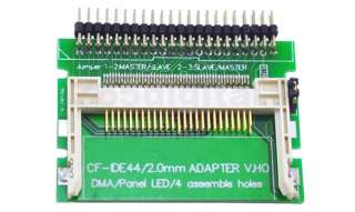 New CF to 44 Pin Laptop IDE Hard Drive Adapter bootable