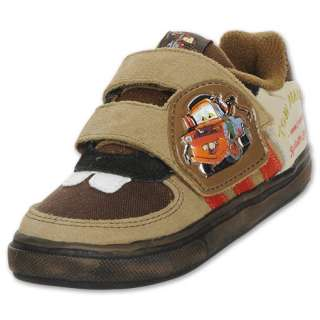 Toddler Boy ADIDAS Cars 2 Tow Mater Brown Sneakers Shoes Size 6
