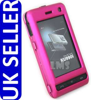 London Magic Store   HOT PINK HYBRID CASE FOR LG VIEWTY KU990 & KU990I