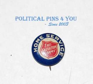 1920 vintage SALVATION ARMY button pin pinback badge