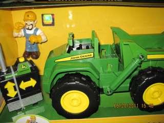 John Deere Radio Control Dump Truck Ertl Toy