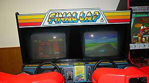 FINAL LAP BY ATARI USED COIN OP SIT DOWN ARCADE GAME