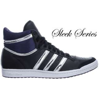 Adidas TOP TEN HI Sleek schwarz lila Damen Schuhe 36 37 38 39 40 41 42
