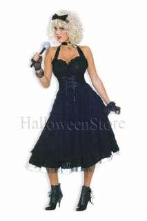 80s Material Girl Adult Costume Madonna Retro Dress
