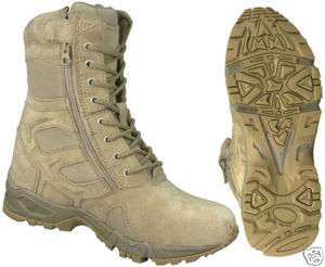 MILITARY DESERT TAN FORCED ENTRY DEPLOYMENT BOOT SIZES 5   12 NWT