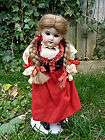 Rare Antique Old Miniature Victorian Salesmans Sample French Doll