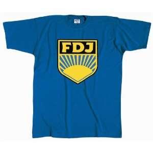 FDJ T Shirt   DDR Ostalgie Motiv S M L XL XXL   Geschenk Geburtstag