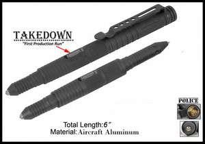 Law Enforcement Tactical Self defense Tool & Pen Black(TDH 7 1)