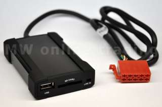 ZEMEX V2 USB SD  AUX Adapter MERCEDES BENZ Exquisit