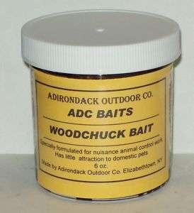 ADIRONDACK WOODCHUCK ADC BAIT animal control trapping