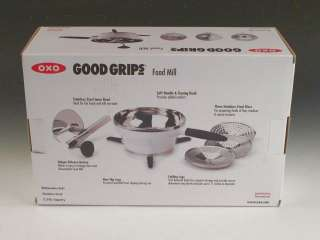 OXO Stainless Steel Good Grips Food Mill NIB