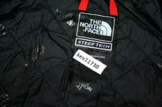 The North Face Steep Tech Selena Jacket White Red Black Coat Women sz