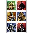 Star Wars Generations STICKERS Birthday Party Favors & Supplies NEW