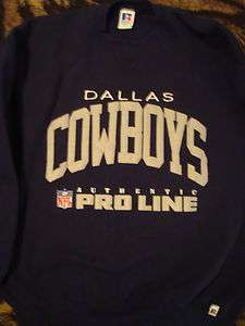 Russell Athletic Mens XL Dallas Cowboys NFL Authentic Proline