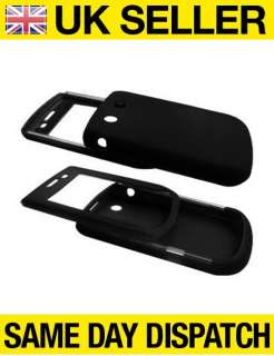 BLACK SILICONE CASE COVER FOR BLACKBERRY TORCH 9800
