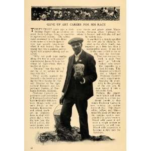 1912 Article George Washington Carver Black Americana