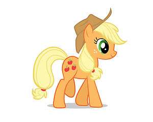 MAGLIETTA FELPA MINI PONY MY LITTLE PONY APPLEJACK APPLE JACK
