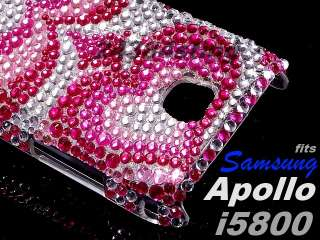 DIAMOND BLING GEM CASE for SAMSUNG GALAXY APOLLO i5800