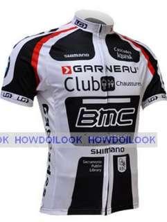 2011 BMC RACING TEAM WHITE CYCLING JERSEY BICYCLE BIKE SHIRT sz S 3XL