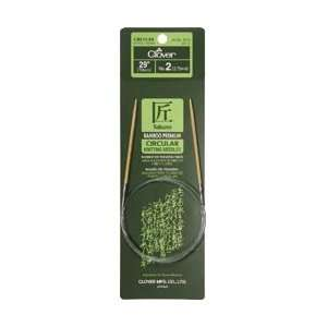 Clover Bamboo Circular Knitting Needle 29 Size 2 3016 29