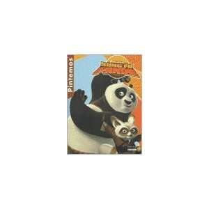 KUNG FU PANDA   PINTEMOS (9789584507792) DREAMWORKS Books