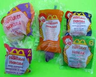 McDonalds Hercules 1998 Disney Toys football Medal