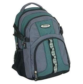 Super JEEP Rucksack Backpack Bag Green/blk PH802 New