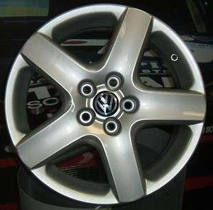 Set 4 cerchi in lega Volkswagen 15 Golf 5 6 Trendline Passat Touran