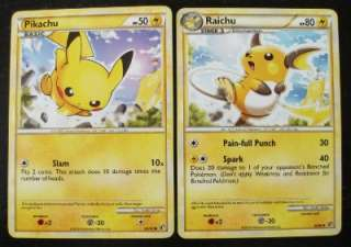 POKEMON   Evolution(Pikachu/Raichu)   Undaunted   MINT