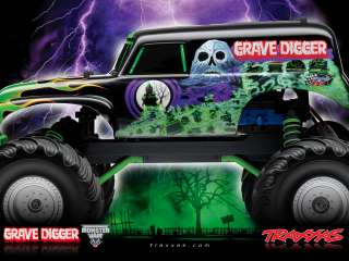 Traxxas Monster Jam Grave Digger RTR Monster Truck