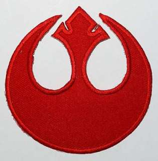 STAR WARS REBEL UNIFORM LOGO Iron On Patch.