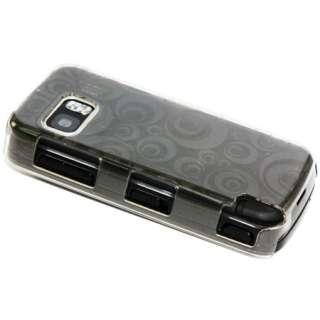 Magic Store   Black Gel Hard Case Cover For Nokia 5580 Xpress Muaic