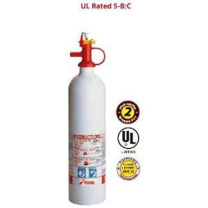 5PWC 5 B:C Disposable Fire Extinguisher (KIDDE): Home Improvement
