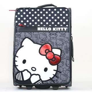 Hello Kitty Polka Dot Carry On Luggage   Loungefly Inc.   Top Gifts