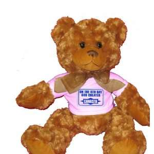 ON THE 8TH DAYGOD CREATED CANASTA Plush Teddy Bear with