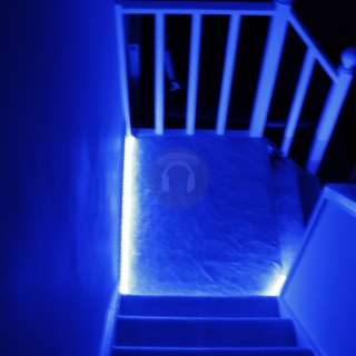 48M Indoor Outdoor Blue LED Garden Patio Decking BBQ Party Rope Mood